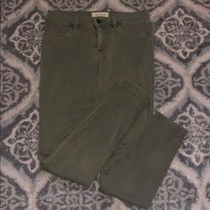 Army green Pacsun jeans!